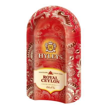 """Чай Hyleys """"Роял Цейлон"""", черный листовой, ж/б, 100 гр"""