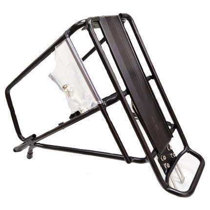 """Багажник 28"""" BLF-H47, алюминиевый, чёрный/010083"""