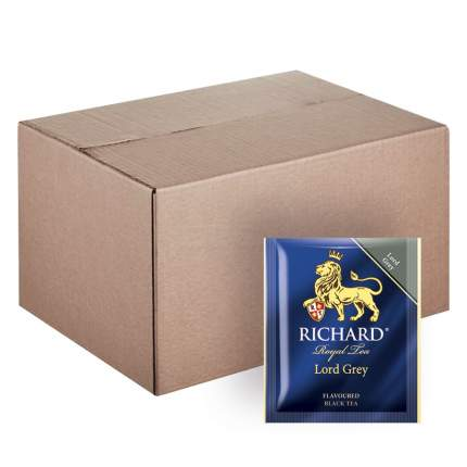"""Чай Richard """"Lord Grey"""", черный листовой, с добавками, 200 пакетиков по 2 гр"""