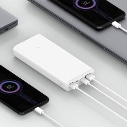 Xiaomi Power Bank 3 30000 mAh Внешний аккумулятор White