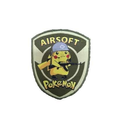 "Патч ""Airsoft Pokemon"", 9.7 x 11.7 см"