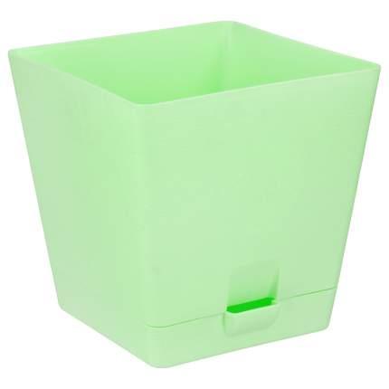Горшок для цветов с поддоном Le Parterre 3 л зеленый