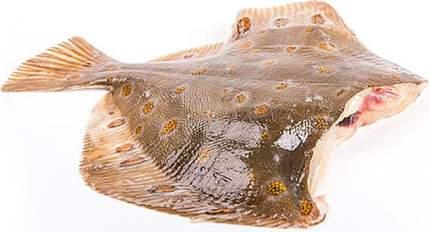 Камбала потрошеная без головы охлажденная 600 г
