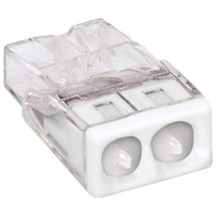 Клемма 2 контактная 2273-242, компактная, с пастой 0.5-2.5 кв.мм (10 шт)