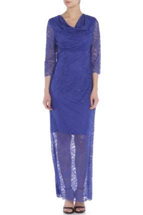 Платье женское Anora 3520 синее 42 IT