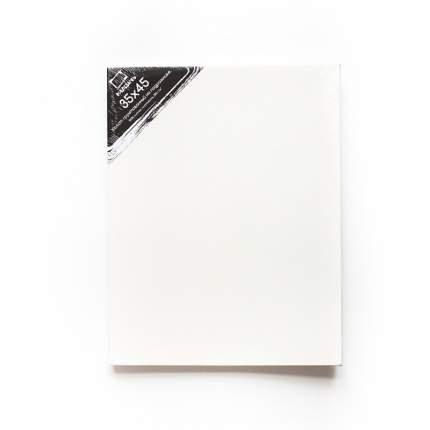 Холст на подрамнике грунтованный Малевичъ 35х45 см, среднезернистый, хлопок 100% 380г
