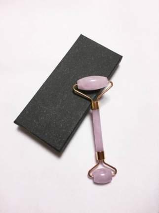 Роликовый массажер AMLISA - розовый кварц