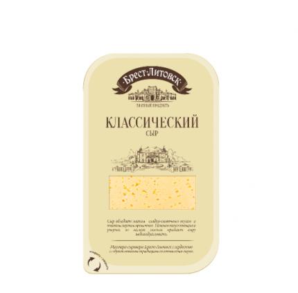 Сыр брест-литовск классический нарезка  45 % 150 г