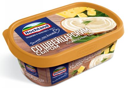 Сыр плавленый Hochland Со Швейцарским сыром 200г