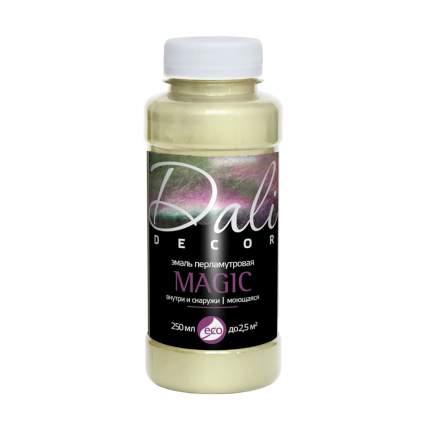 Эмаль перламутровая Dali-Decor Magic, 0,25 л, серебро