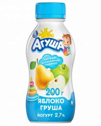 Йогурт Агуша питьевой яблоко груша 2.7% 200 г