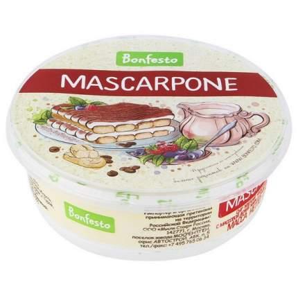 Сыр бонфесто маскарпоне мягкий бзмж жир. 78 % 250 г пл/уп туровский мк беларусь