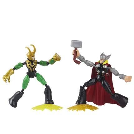 Avengers Hasbro 2 фигурки 15 см Бенди Тор и Локи F02455L0