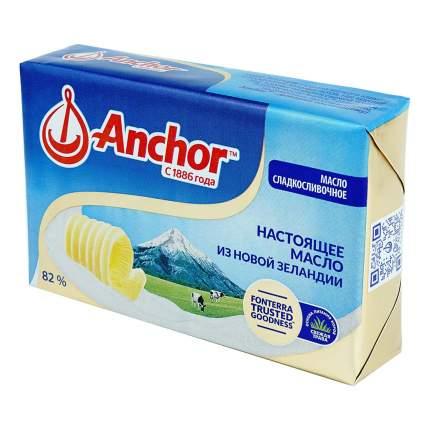 Масло анкор бзмж сладко-сливочное несоленое жир. 82 % 180 г фольга # юнифуд россия