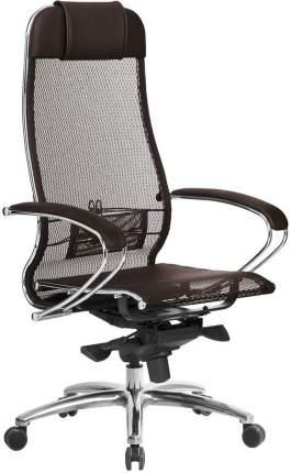 Кресло руководителя Метта Array Samurai S-1.04 Сетка коричневая