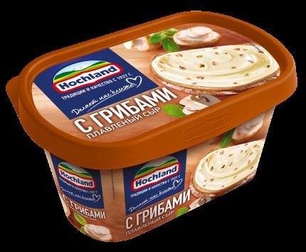 Сыр плавленый Hochland С грибами 400г