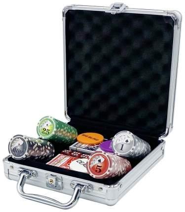 Покерный набор Royal Flush, 200 фишек, 11,5 г, с номиналом, в алюминиевом чемодане