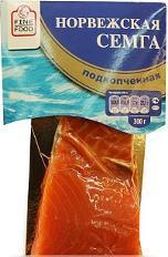 Сёмга Fine Food Норвежская филе-кусок подкопчённая 300 г