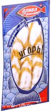 Угорь Олива Факел горячего копчения 150 г