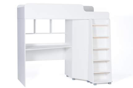 Детская кровать-чердак Tomix Attic, белая К440