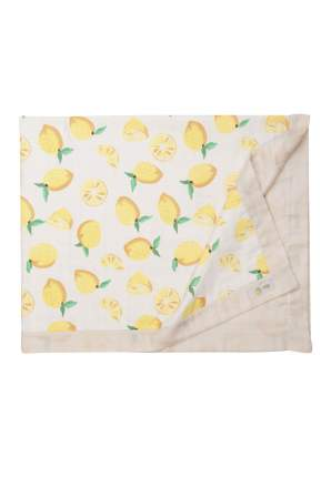 Плед Сонный гномик Лен и лимон муслин