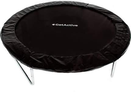 Батут GetActive Jump с сеткой и лестницей 244 см, черный