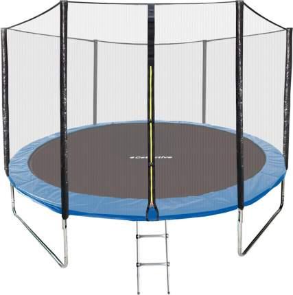 Батут GetActive Jump 1119473 с сеткой и лестницей 305 см, синий