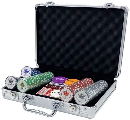 Покерный набор Empire, 200 фишек 11.5 г с номиналом в чемодане, сукно