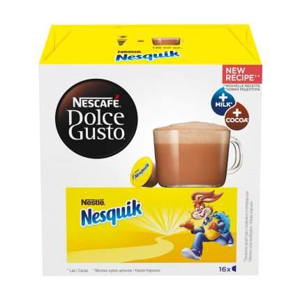 Шоколадный напиток в капсулах Nescafe Dolce Gusto nesquik 16 капсул