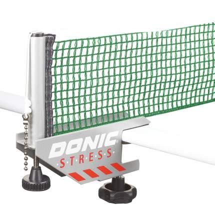 Сетка н/т Donic STRESS серый с зеленым 410211-GG