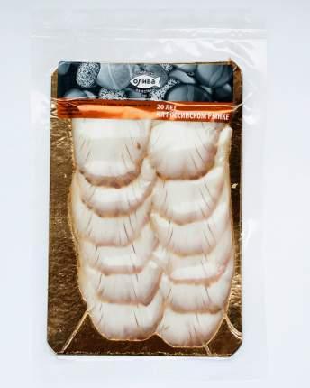 Осетровые Олива Факел горячего копчения ломтики 150 г