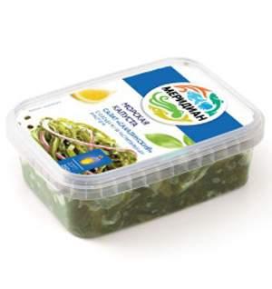 Салат Меридиан Сахалинский из морской капусты с овощами и растительным маслом 200 г