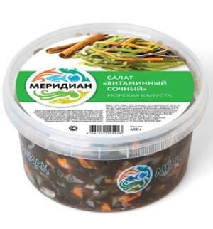 Салат Меридиан Витаминный из морской капусты 450 г