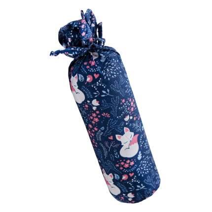 Подушка ортопедическая (Валик) с лузгой гречихи AMARO HOME Healthy Roll (Лисички)