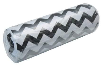 Подушка ортопедическая (Валик) с лузгой гречихи AMARO HOME Nature Roll (Зигзаг черный)