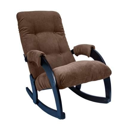 Кресло-качалка Модель 67, венге, ткань Verona Brown