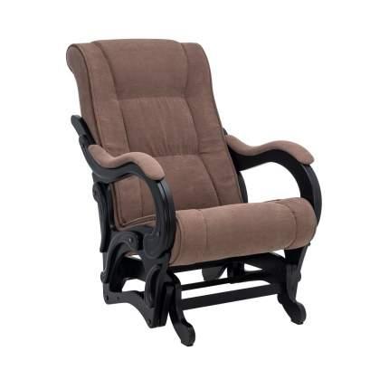 Кресло-глайдер Модель 78, венге, ткань Verona Brown