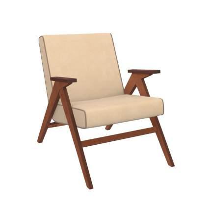 Кресло для отдыха Вест, орех, ткань Verona Vanilla, кант Verona Brown