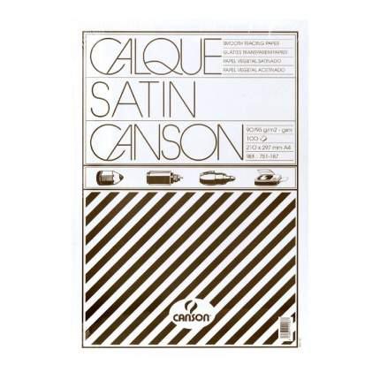 Калька Canson 90г/м.кв 21x29.7см в мягкой упак. 100 листов