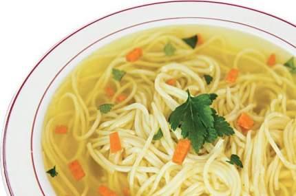 Суп у Палыча куриный с домашней лапшой