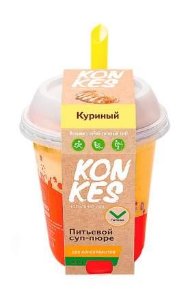 Суп-пюре KonKes куриный питьевой 300 г