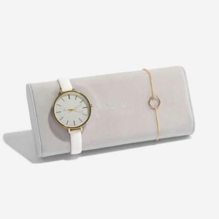 Подушка для часов и браслетов Stackers 73770 Grey Velvet
