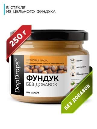 Паста ореховая DopDrops Фундук (фундучная) без добавок, 250 г
