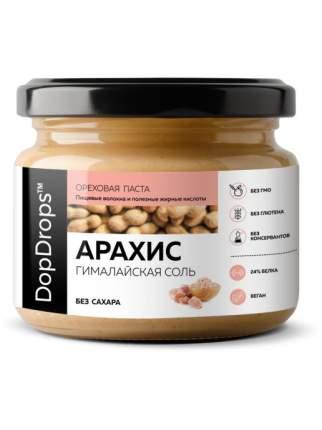 Паста Арахисовая DopDrops с гималайской солью, 250 г