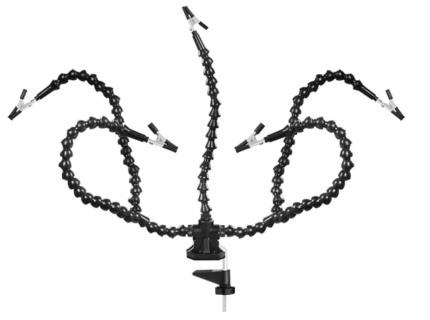 Настольный держатель NEWACALOX, 5 гибких ножек с зажимами