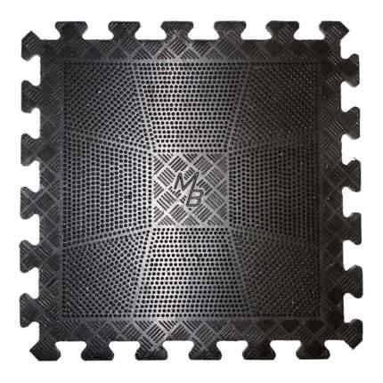 Коврик резиновый MB Barbell черный 400х400, толщина 12мм MB-MatBL-12