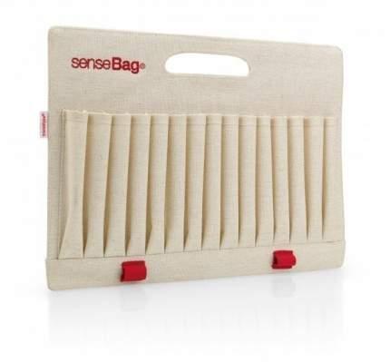 Палетка текстильная с держателем senseBag 33,5*25 см на 30 маркеров кремовый