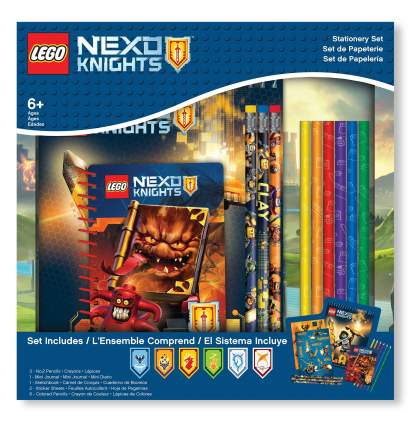 Набор канцелярских принадлежностей (13 шт. в комплекте) LEGO Nexo Knights