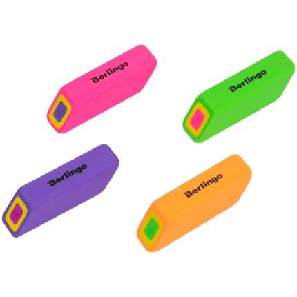 """Ластик Berlingo """"Swift"""", прямоугольный, скошенный, термопластичная резина, 57*15*15мм"""