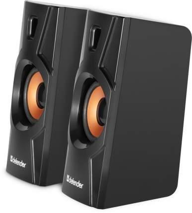 Колонки для компьютера DEFENDER AURORA S8 Black 8 Вт, питание от USB